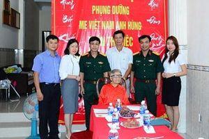 Tổng công ty Thái Sơn nhận phụng dưỡng Bà mẹ Việt Nam anh hùng Trần Thị Riệc