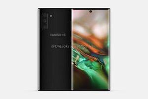Rò rỉ Samsung Galaxy Note 10 xuất sắc 'ăn đứt' iPhone Xs