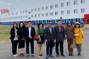 Đoàn Công tác Báo Thế giới & Việt Nam hưởng ứng Tuần lễ Văn hóa Việt Nam tại Liên bang Nga