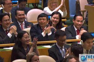 Việt Nam trúng cử với số phiếu kỷ lục