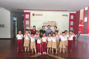 Trường iSchool tặng học bổng toàn phần 12 năm cho con gái diễn viên Mai Phương