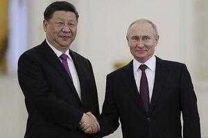 Tổng thống Nga Putin: 'Quan hệ Nga-Trung đạt trình độ chưa từng thấy'