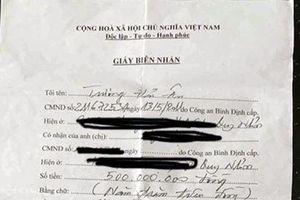 Phó giám đốc Sở tại Bình Định bị tố 'lừa đảo'