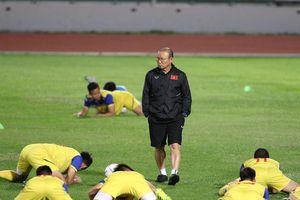 HLV Park Hang Seo trầm ngâm trước trận chung kết với Curacao