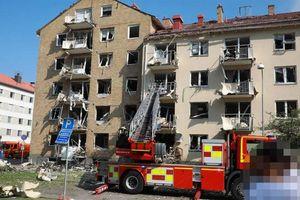 Nổ lớn hủy hoại nhiều tòa nhà ở Thụy Điển