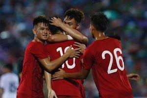 U23 Việt Nam đánh bại U23 Myanmar sau trận 'thủy chiến'