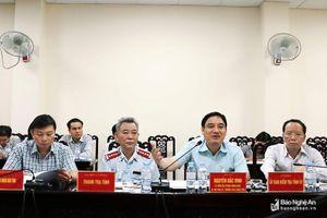 Bí thư Tỉnh ủy Nghệ An chỉ đạo giải quyết 10 lượt kiến nghị tại phiên tiếp công dân chiều 7/6