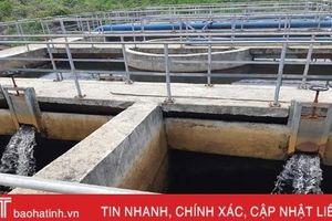 Công trình cấp nước Thạch Bằng hoạt động trở lại