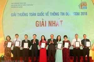 Giải thưởng thông tin đối ngoại: Kịp thời quảng bá hình ảnh Việt Nam