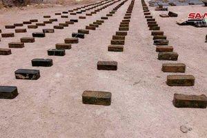 Syria: Điều bất ngờ trong kho vũ khí lớn khủng bố giấu dưới lòng đất ở Quneitra