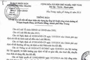 Dự án Trung tâm thương mại và nhà ở Phước Lợi: Đã được Hội đồng nhân tỉnh Khánh Hòa thông qua
