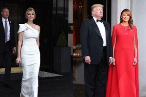 Phu nhân & Ái nữ TT Trump chi tiền tỷ cho những trang phục đẳng cấp trong chuyến công du đến Anh
