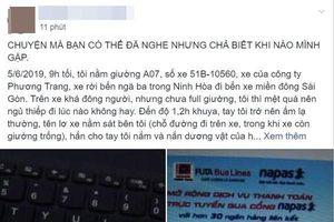 Nhà xe Phương Trang nói gì trước tin nhân viên sàm sỡ khách đang ngủ nhiều lần, ai cũng nhìn nhưng không lên tiếng?