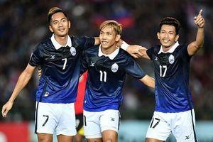 Đội tuyển Campuchia gây sốc ở vòng loại vòng loại World Cup 2022