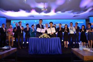 Sam Sung và Tập đoàn Egroup ký kết hợp tác chiến lược về ứng dụng giáo dục công nghệ cao