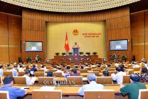 Quốc hội lấy ý kiến về thẩm quyền quyết định danh mục dự án sử dụng vốn dự phòng và vốn còn lại trong Kế hoạch đầu tư công trung hạn giai đoạn 2016-2020