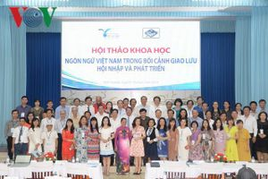 TGĐ VOV Nguyễn Thế Kỷ dự Hội thảo Ngữ học toàn quốc 2019