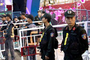 An ninh thắt chặt tại lễ hội pháo hoa quốc tế Đà Nẵng