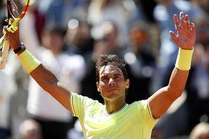 Đánh bại Federer, Nadal lần thứ 12 lọt vào chung kết Roland Garros
