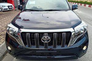 Toyota Land Cruiser Prado dùng 3 năm, giá 1,9 tỷ ở Hà Nội