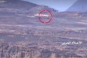 Quân đội Yemen phá tan tành xe bọc thép của Ả rập xê út bằng tên lửa