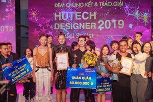 Đặng Thái Sơn giành giải quán quân HUTECH Designer 2019