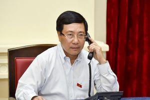 Bộ trưởng Ngoại giao Việt Nam đề nghị Singapore có điều chỉnh phù hợp