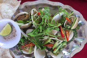 Hương vị quê hương: Ngao biển Phổ An