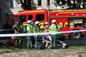 Nổ chung cư ở Thụy Điển làm 25 người bị thương