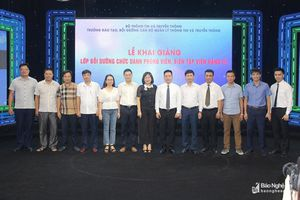 Hơn 90 phóng viên, biên tập viên 3 tỉnh Bắc Trung bộ tham gia khóa học nâng cao