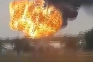 Nổ kho chứa khí gas tại Kazakhstan