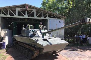 Pháo tự hành 2S42 Lotos của lính dù Nga trông thế nào?