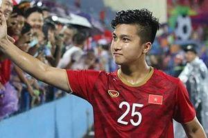 Martin Lò trải lòng sau lần đầu tiên khoác áo U23 Việt Nam