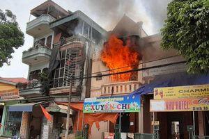 Lào Cai: Cháy lớn ở một cơ sở mầm non tư thục vùng cao Bắc Hà