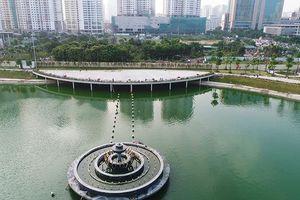 Trả lại vẻ đẹp cho Công viên hồ điều hòa Nhân Chính