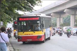 Hà Nội giảm xe bus trùng với tuyến đường sắt trên cao