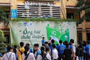 Loại bỏ ống hút nhựa, lan tỏa lối sống xanh