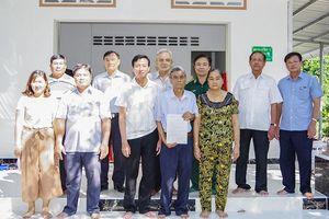 Tặng nhà 'Nghĩa tình đồng đội' cho cựu chiến binh nghèo