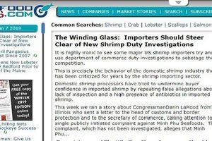 Báo Mỹ viết gì về vụ vua tôm Việt bị cáo buộc né thuế?