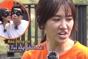 Hari Won liên tục 'dằn mặt' Trấn Thành vì quá thân thiết với Lan Ngọc
