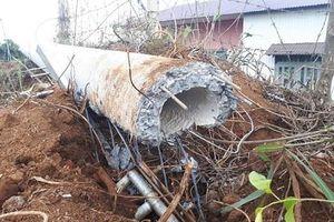 Lâm Đồng: Cột điện gãy đổ khiến một thợ điện tử vong