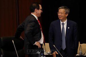 Hội nghị G20: Mỹ hối thúc Trung Quốc nối lại đàm phán thương mại