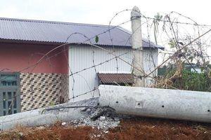 Lâm Đồng: Trụ điện gãy đổ đè một công nhân thiệt mạng