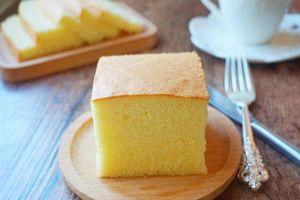 Các mẹ mới học làm bánh không thể bỏ qua công thức bánh bông lan cơ bản này