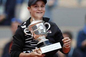 Hủy diệt tay vợt tuổi teen, Ashleigh Barty lần đầu vô địch Roland Garros