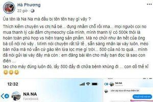 Bị tố thanh lý váy 'như giẻ lau' với giá 500k, MC Hà Phương lập tức đăng đàn phản pháo