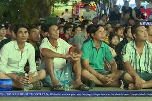 Người hâm mộ vững tin vào thành công của đội tuyển Việt Nam