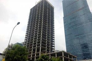 Vicem xin bán 'tòa nhà điều hành' 31 tầng đang xây dựng