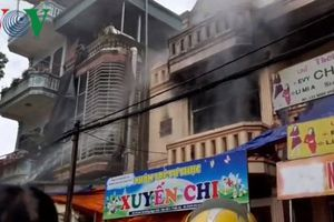 Cháy lớn tại một nhà trẻ tư thục tại Bắc Hà, Lào Cai