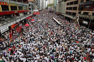 Hơn 1 triệu người Hong Kong biểu tình phản đối dự luật dẫn độ
